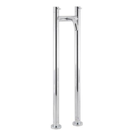 Crosswater - Design Floor Mounted Freestanding Bath Filler - DE322DC-AA002FC