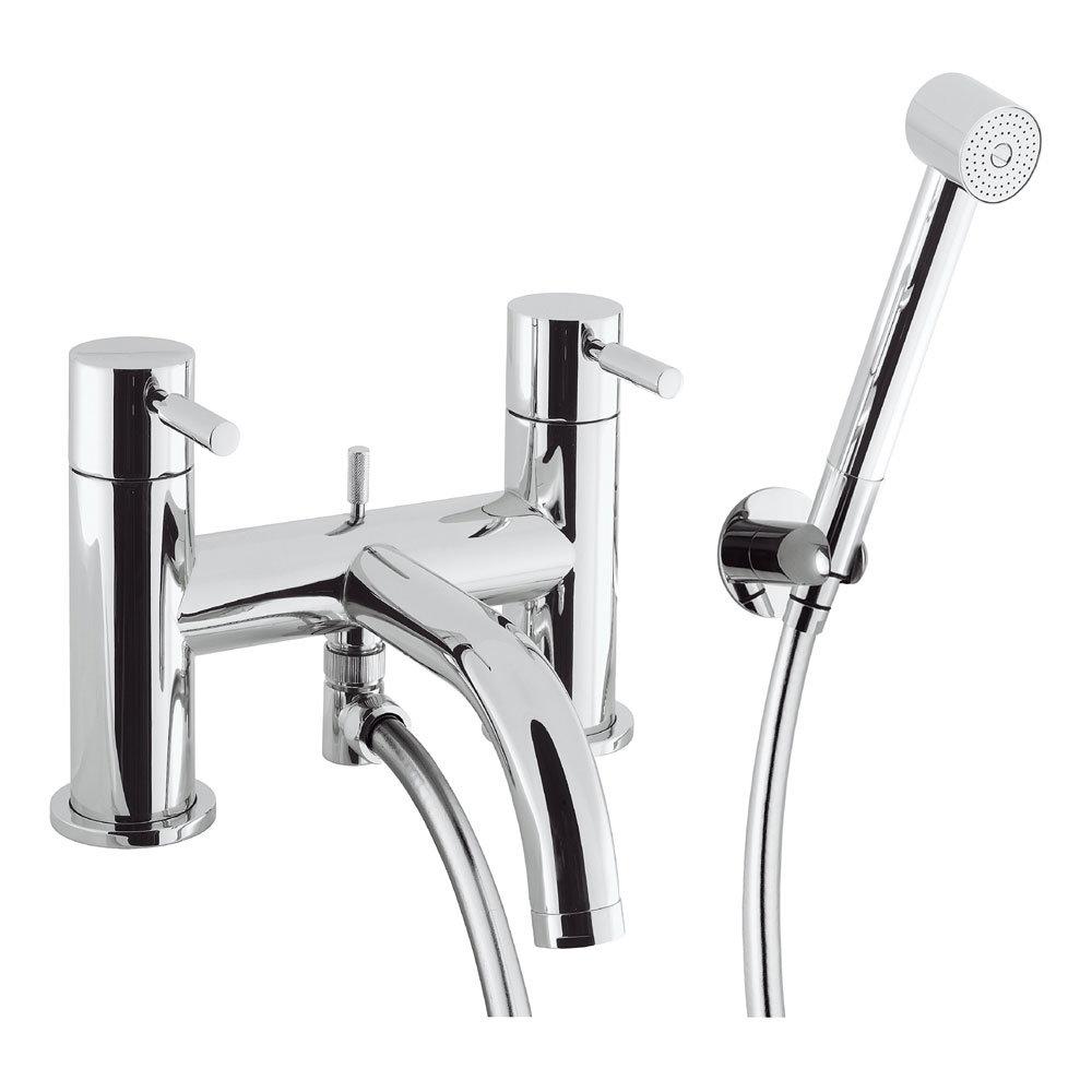 Crosswater - Design Bath Shower Mixer with Kit - DE422DC Large Image