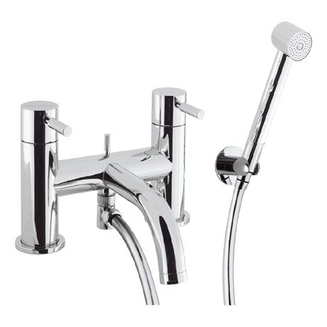 Crosswater - Design Bath Shower Mixer with Kit - DE422DC