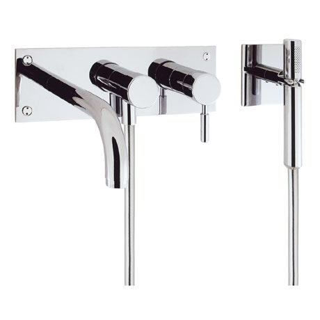 Crosswater - Design Wall Mounted 3 Hole Bath Shower Mixer - DE431WC