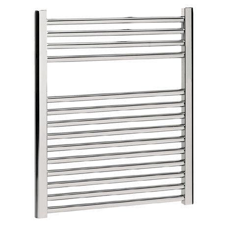 Bauhaus - Design Flat Panel Towel Rail - Chrome - Various Size Options