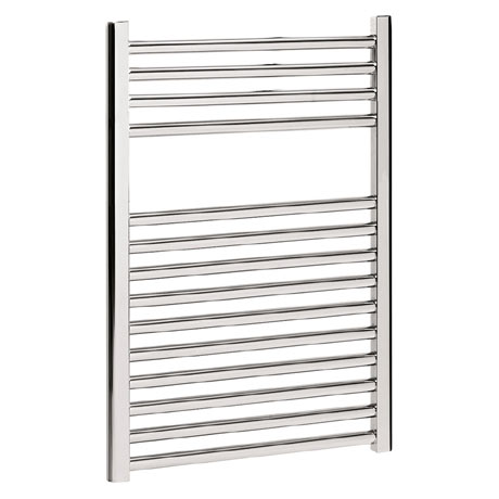 Bauhaus - Design Flat Panel Towel Rail - Chrome - Various Size Options