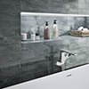 Delta Grey Stone Effect Wall Tiles - 75 x 300mm Small Image