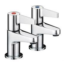 Bristan - Design Utility Lever Basin Taps - Chrome - DUL1/2C Medium Image