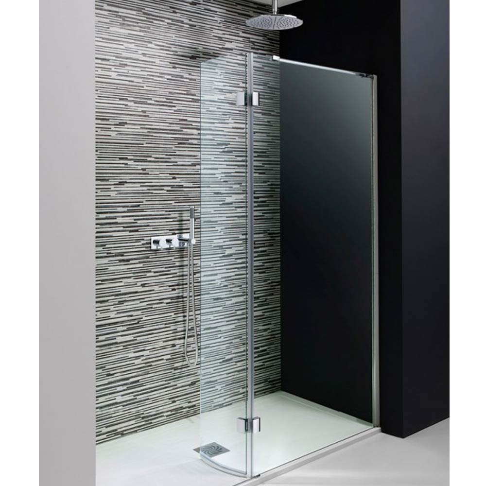 Simpsons - Design View Walk In Easy Access Shower Enclosure - 2 Size Options Large Image