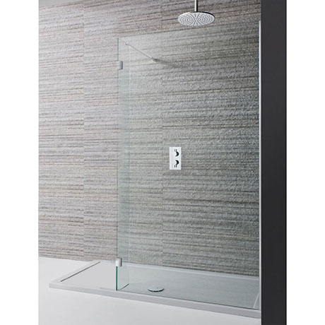 Simpsons Design View Double Sided Walk In Shower Enclosure - 2 Size Options