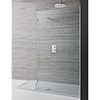 Crosswater Design View Double Sided Walk In Shower Enclosure - 2 Size Options profile small image view 1