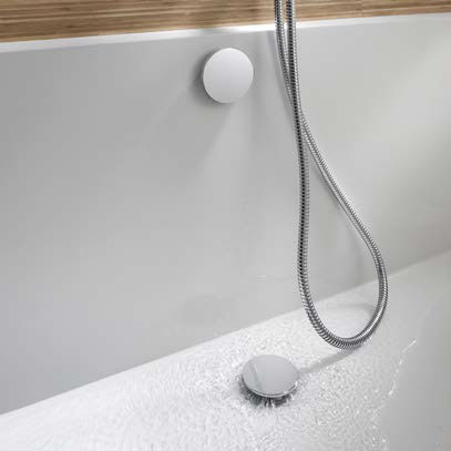 Crosswater - Wisp Digital Bottom Filling Bath Waste - DGX0700C Profile Large Image