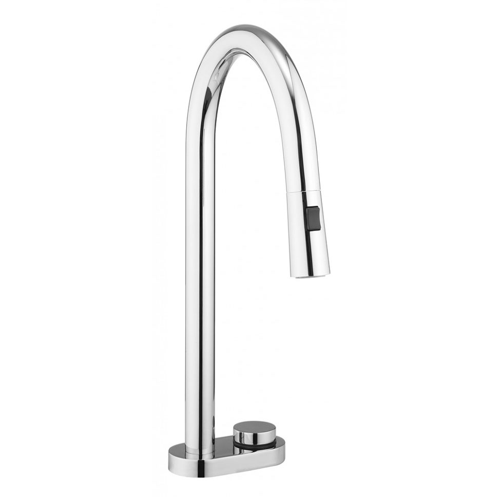 Crosswater - Cucina Digital Kitchen Mixer with Pull Out Spray - DGX712DC Large Image