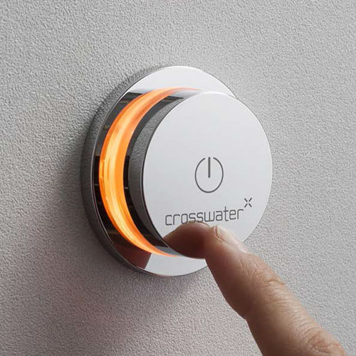 Crosswater Digital Elite 2-Way Bath Processor & Controller w Remote Control In Bathroom Large Image