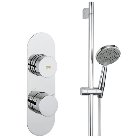 Crosswater - Dial Central 1 Control Shower Valve with Single Mode Shower Kit