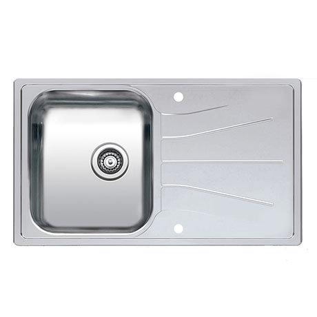 Reginox Diplomat 10 Eco 1.0 Bowl Stainless Steel Inset Kitchen Sink