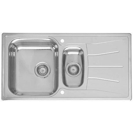Reginox Diplomat Eco 1.5 Bowl Stainless Steel Inset Kitchen Sink