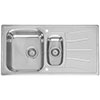Reginox Diplomat Eco 1.5 Bowl Stainless Steel Inset Kitchen Sink profile small image view 1