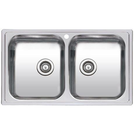Reginox Diplomat 20 2.0 Bowl Stainless Steel Inset Kitchen Sink