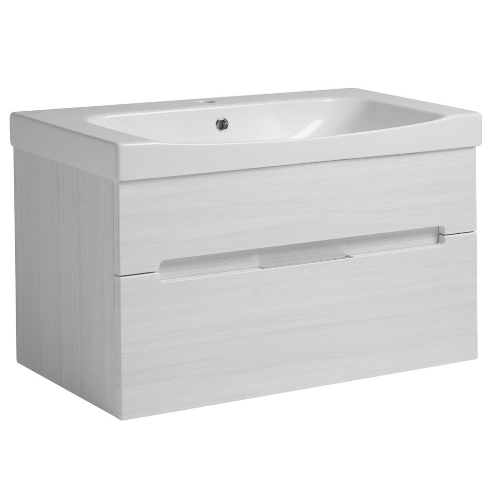 Roper Rhodes Diverge 800mm Wall Mounted Unit - Alpine Elm