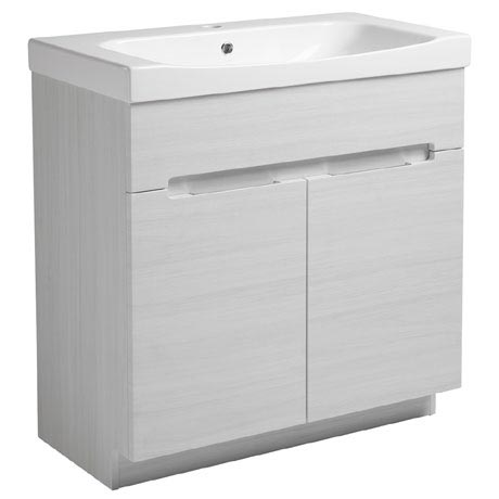 Roper Rhodes Diverge 800mm Freestanding Unit - Alpine Elm