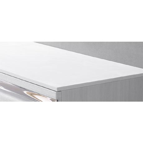 Roper Rhodes Diverge 800mm Solid Surface Worktop with Supports - DIV8SSWKIT