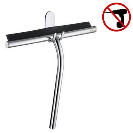 Smedbo Sideline - Polished Chrome Shower Squeegee with Hook - DK2110