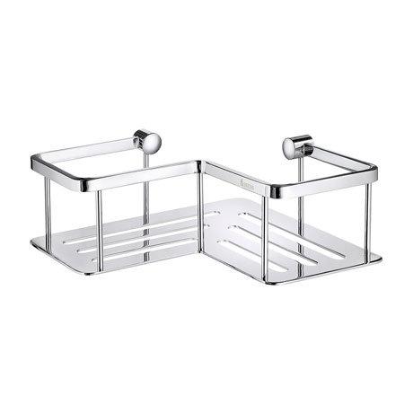 Smedbo Sideline Corner Soap Basket - Polished Chrome - DK3025