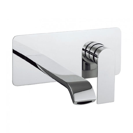 Crosswater - Dune Wall Mounted 2 Hole Set Basin Mixer - DN121WNC