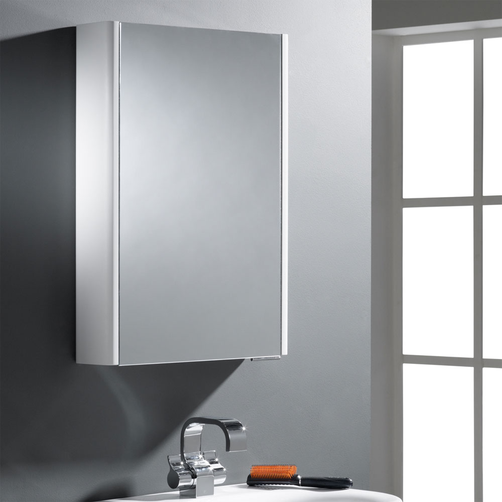 Roper Rhodes Phase Mirror Cabinet without Electrics - DN50W profile large image view 2
