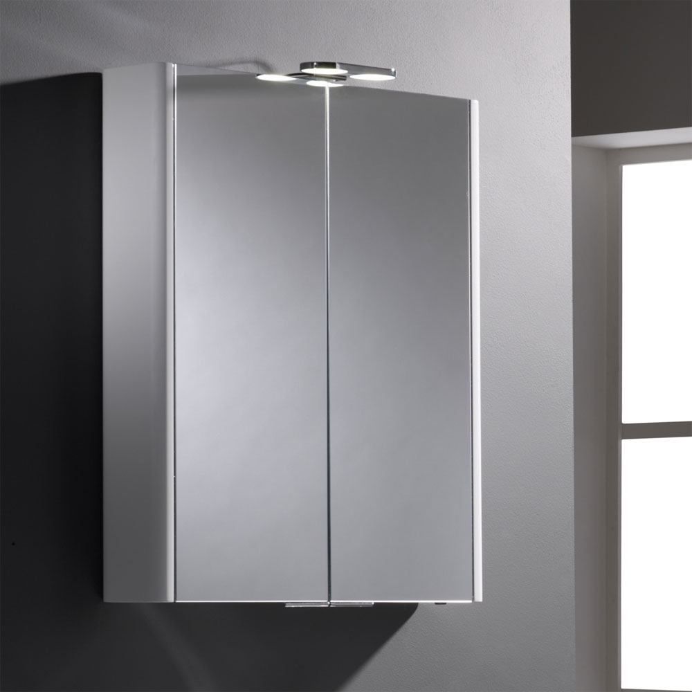 Roper Rhodes Entity Mirror Cabinet with Electrics - DN60WL Feature Large Image