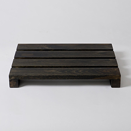 Dark Oak Bathroom Duckboard - 500 x 380mm