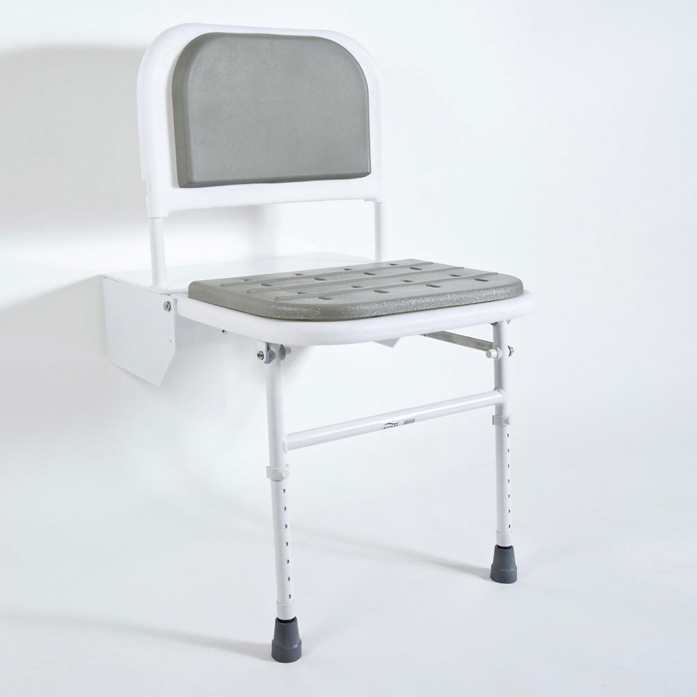 Bristan - DocM Shower Seat with Legs Large Image