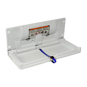 Dolphin - Surface Mounted Horizontal Nappy Changing Unit - BC100-EH Large Image