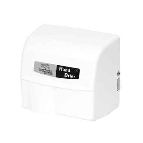 Dolphin - Surface Mounted Hot Air Hand Dryer - White - BC1800W