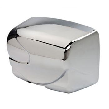 Dolphin - Surface Mounted Hot Air Hand Dryer - Chrome - BC2200RA Large Image