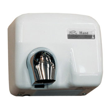 Dolphin - Enamel Coated Hot Air Hand Dryer - BC2400PA profile large image view 1