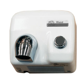 Dolphin - Enamel Coated Push Button Hot Air Hand Dryer - BC2400PS profile large image view 1