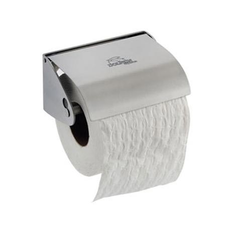 Dolphin - Stainless Steel Toilet Roll Holder - Single Roll - BC266