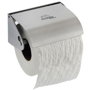 Dolphin - Stainless Steel Toilet Roll Holder - Single Roll - BC266 Large Image