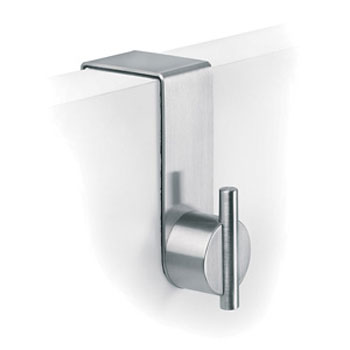 Dolphin - 42mm Over Door Hook - Satin Stainless Steel - DH482SS profile large image view 1
