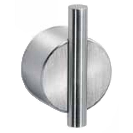 Dolphin - 25mm Bar Wall Hook - Satin Stainless Steel - DH485SS Large Image