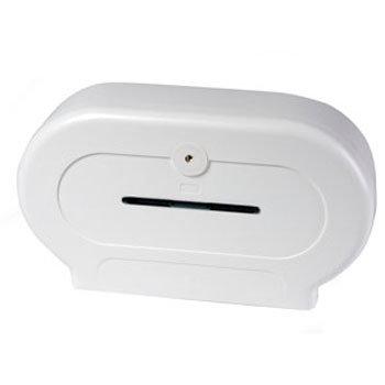 Dolphin - Plastic Double Mini Jumbo Dispenser - BC594W Large Image