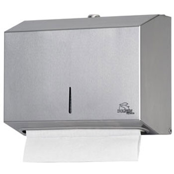 Dolphin - Surface Mounted Stainless Steel Mini Paper Towel Dispenser - BC918 profile large image view 1