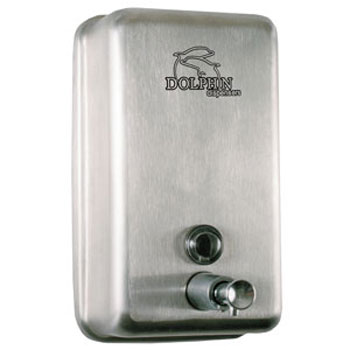Dolphin - Stainless Steel Vertical Soap Dispenser - BC923 Large Image