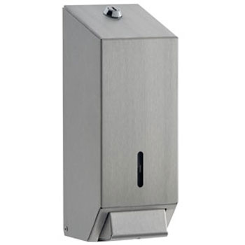 Dolphin - Surface Mounted Soap Dispenser - Satin Stainless Steel - BC924SS Large Image