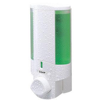 Dolphin - Single Plastic Shower Dispenser - White - BC624-1W profile large image view 1