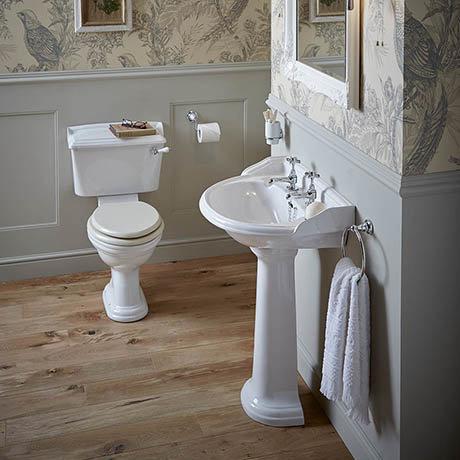 Heritage Dorchester Traditional 4-Piece Bathroom Suite