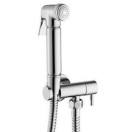 Modern Douche Shower Spray Kit with Shut Off Valve + Hose