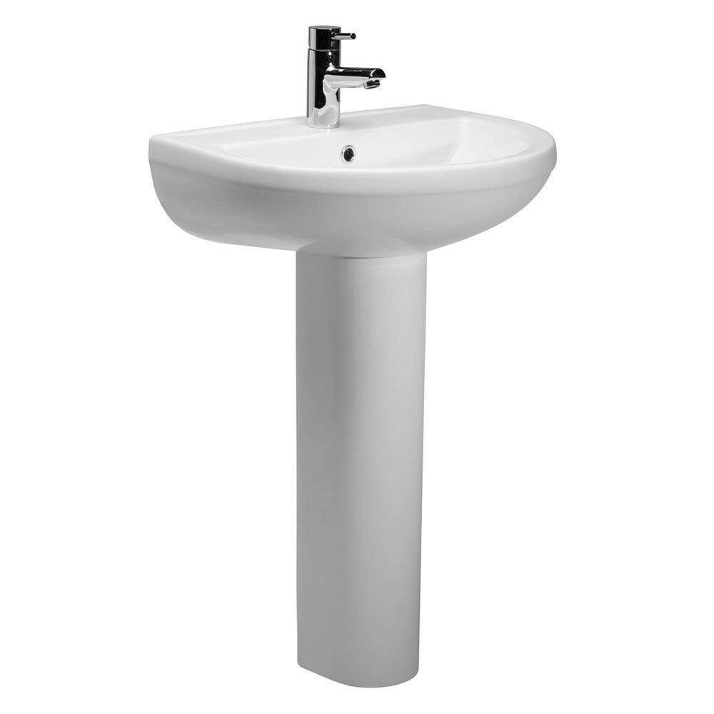 Roper Rhodes Minerva 540mm Basin & Pedestal Large Image