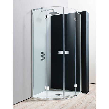 Simpsons - Design Quadrant Double Hinged Door Enclosure - 2 Size Options