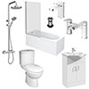 Drift Complete Modern Bathroom Package profile small image view 1