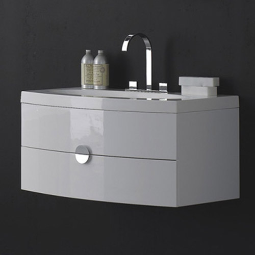 Durab Melina 920 Wall Mounted Vanity Unit With Basin
