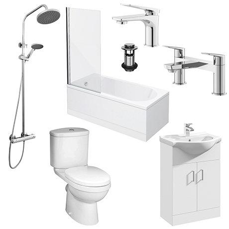 Drift Complete Modern Bathroom Package